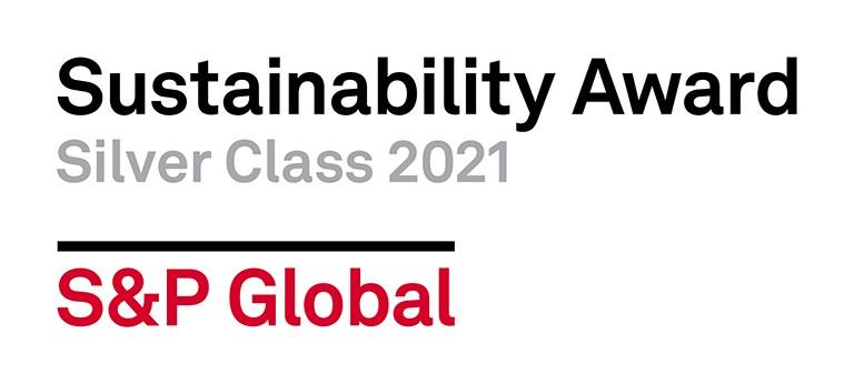 Icono Anuario de Sostenibilidad publicado por S&P Global